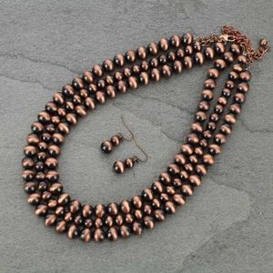 "18"" Western Pearl Necklace"